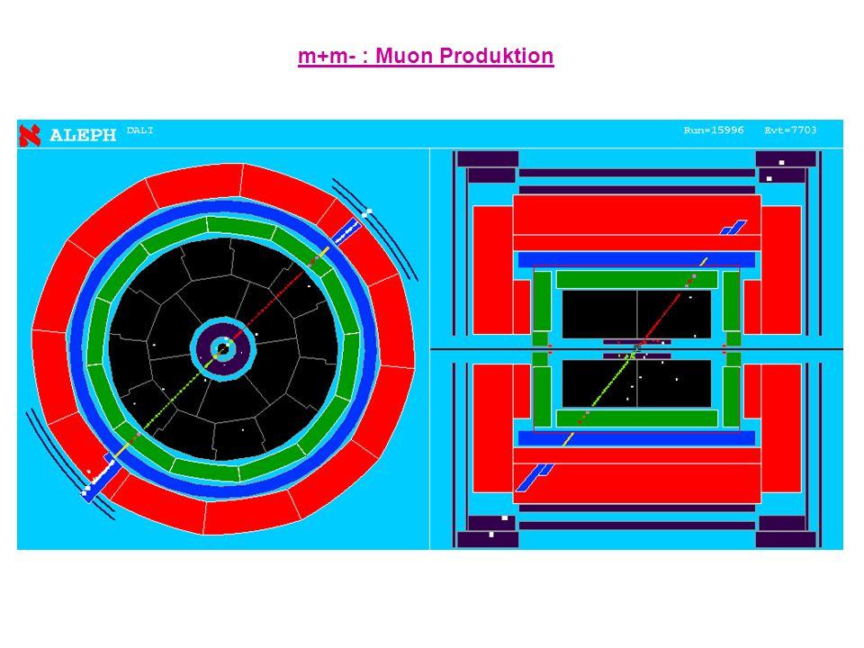 m+m- : Muon Produktion