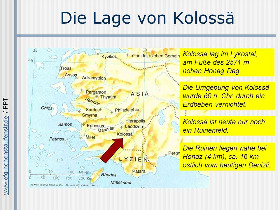 www.efg-hohenstaufenstr.dewww.efg-hohenstaufenstr.de / PPT Die Ruinen von Kolossä