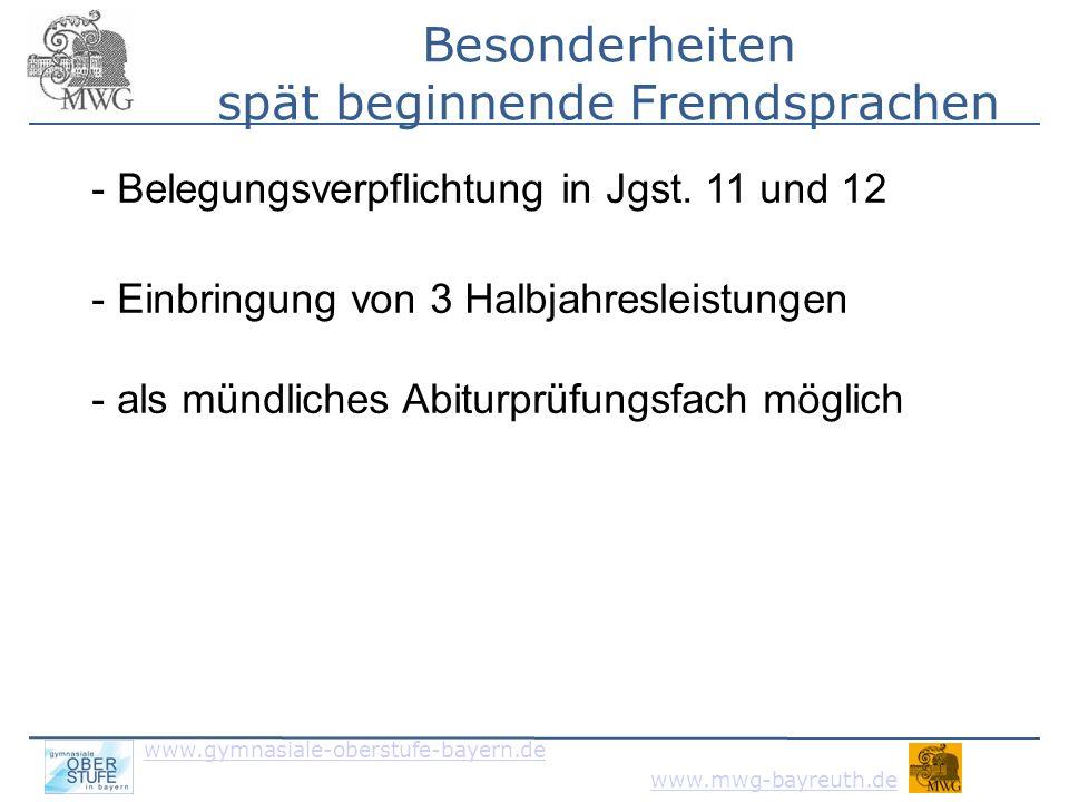 www.gymnasiale-oberstufe-bayern.de www.mwg-bayreuth.de 4.