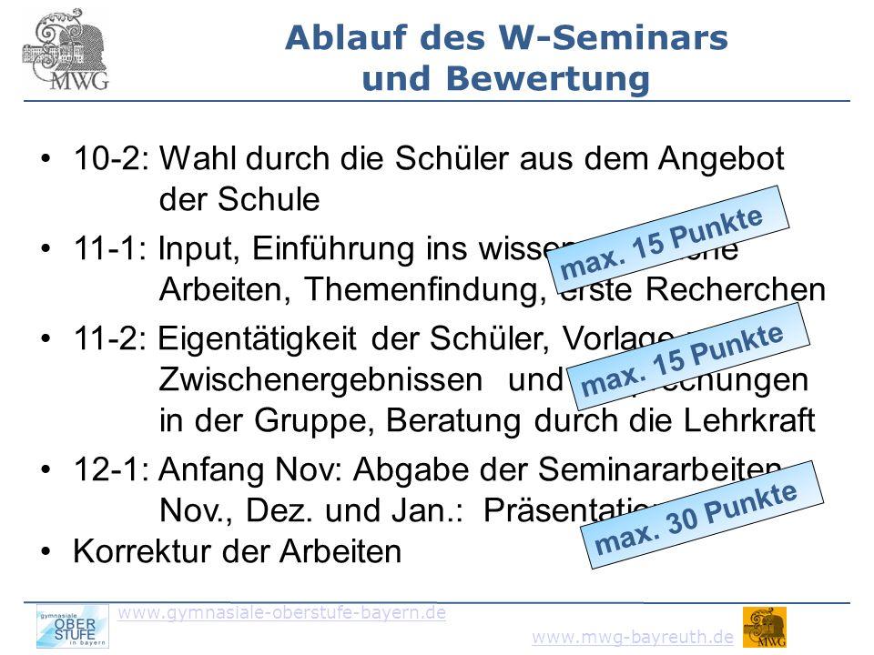 www.gymnasiale-oberstufe-bayern.de www.mwg-bayreuth.de 5.