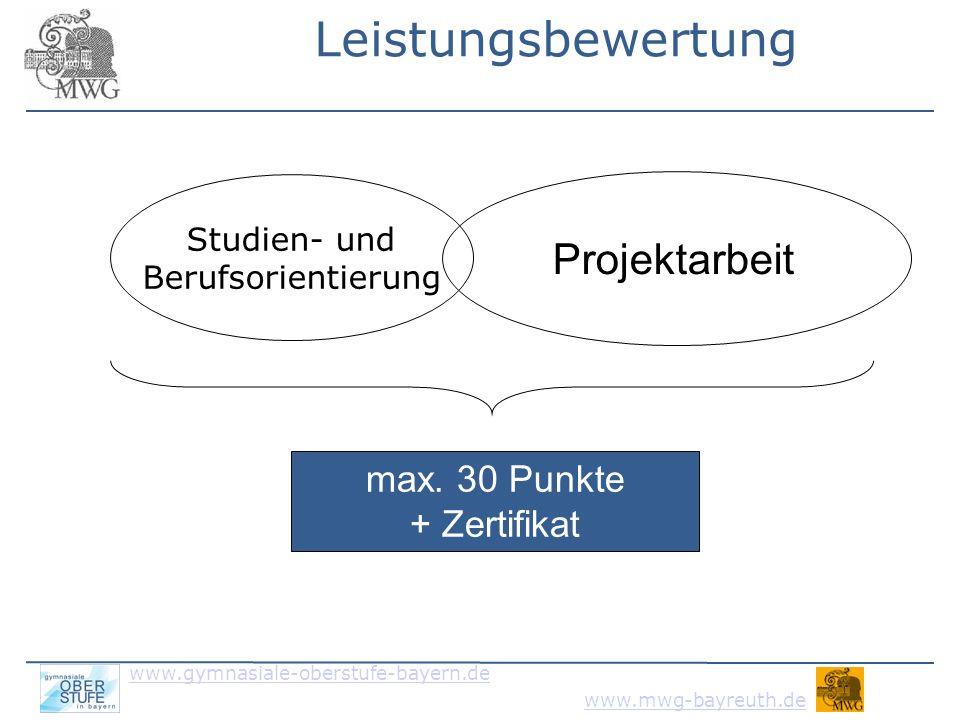 www.gymnasiale-oberstufe-bayern.de www.mwg-bayreuth.de 6. Schluss
