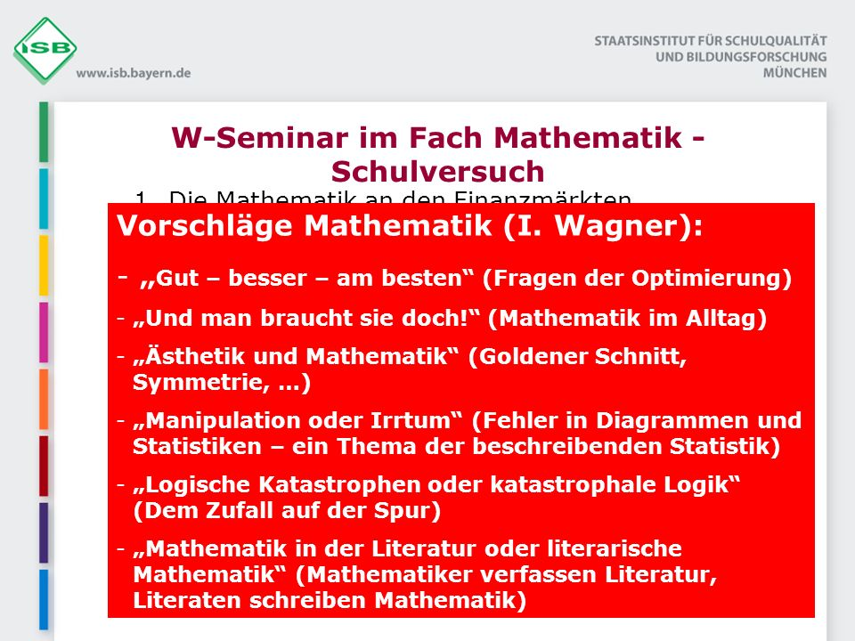 P-Seminar – Projekt im Fach Mathematik Mathematik-Cafe / Tutorsystem ( soz.