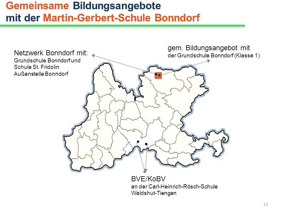 Netzwerk Bonndorf mit: Grundschule Bonndorf und Schule St. Fridolin Außenstelle Bonndorf BVE/KoBV an der Carl-Heinrich-Rösch-Schule Waldshut-Tiengen g