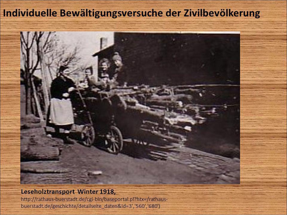 Leseholztransport Winter 1918, http://rathaus-buerstadt.de/cgi-bin/baseportal.pl?htx=/rathaus- buerstadt.de/geschichte/detailseite_daten&Id=3','560','