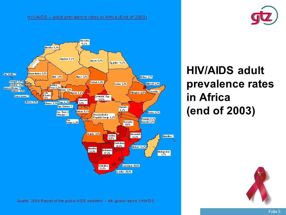 Die GTZ Folie 26 Wesentliche Akzente der staatlichen deutschen HIV/AIDS-Bekämpfung in Entwicklungsländern Politischer Dialog mit und in den Partnerländern und internationalen Organisationen Unterstützung der Partnerländer bei der Schaffung der erforderlichen Systemvoraussetzungen in den für die HIV/AIDS-Bekämpfung relevanten sozialen Grunddiensten Aufklärung und Prävention Verbesserung der Behandlungsmöglichkeiten Aktive Partnerschaft mit dem Privatsektor und der Zivilgesellschaft