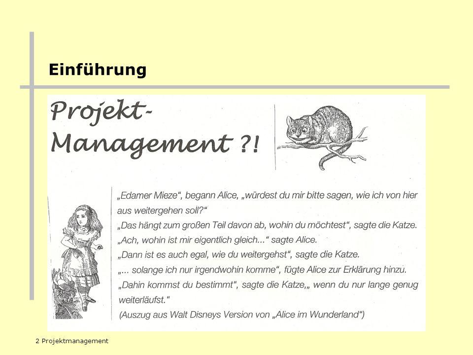 REGIERUNGSPRÄSIDIUM TÜBINGEN 2 Projektmanagement Einführung