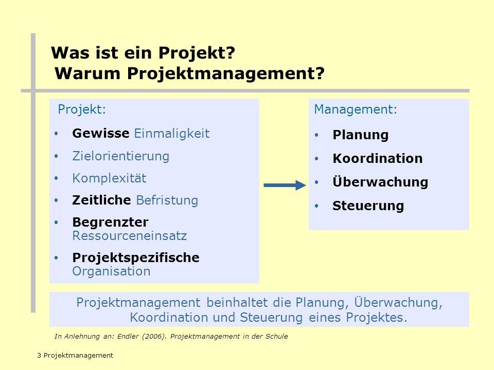 REGIERUNGSPRÄSIDIUM TÜBINGEN 3 Projektmanagement Projekt: Gewisse Einmaligkeit Zielorientierung Komplexität Zeitliche Befristung Begrenzter Ressourcen
