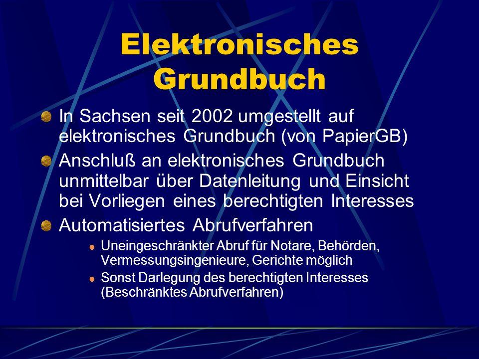 Länderspezifische Unterschiede Verschiedene Verfahren mit elektronischer Signatur Bsp. TAR/WEB (AG Coburg), Hamburg, Bremen, Berlin, Baden-Württemberg
