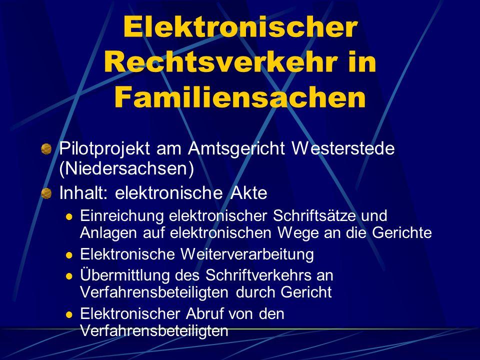 Finanzgerichte NRW § 77 a FGO: elektronische Dokumente sollen qualifiziert signiert werden Grund: Überprüfung der Authentizität und Integrität des Dok