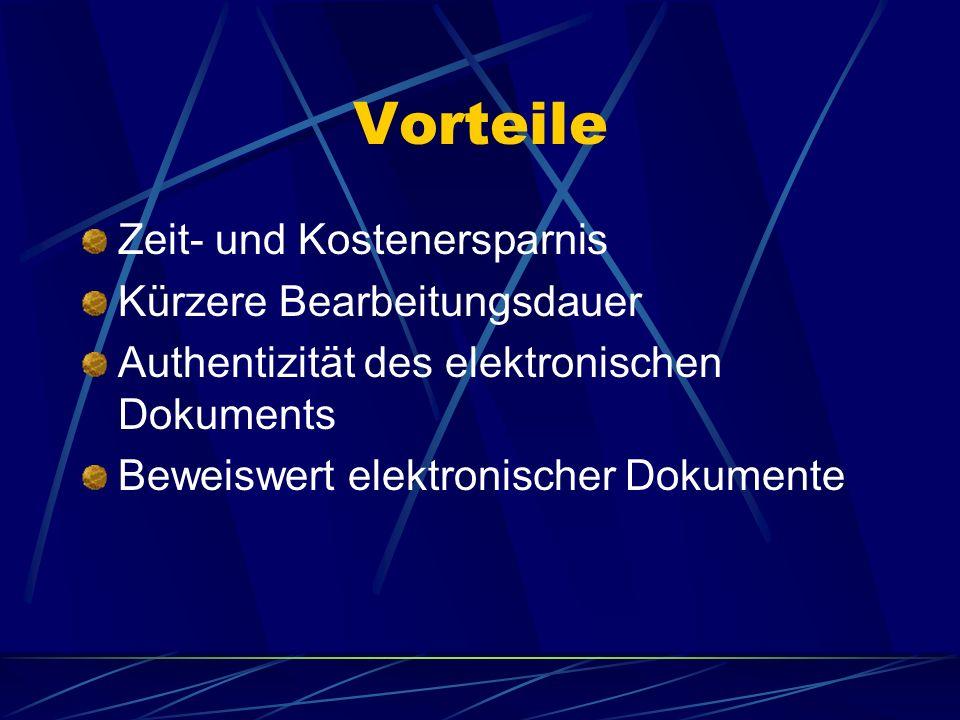 Vorteile der elektronischen Klageeinreichung Täglich 24 Stunden lang Zugang des Anwaltes zum Gericht und Eingangsbestätigungen sowie automatische Bena
