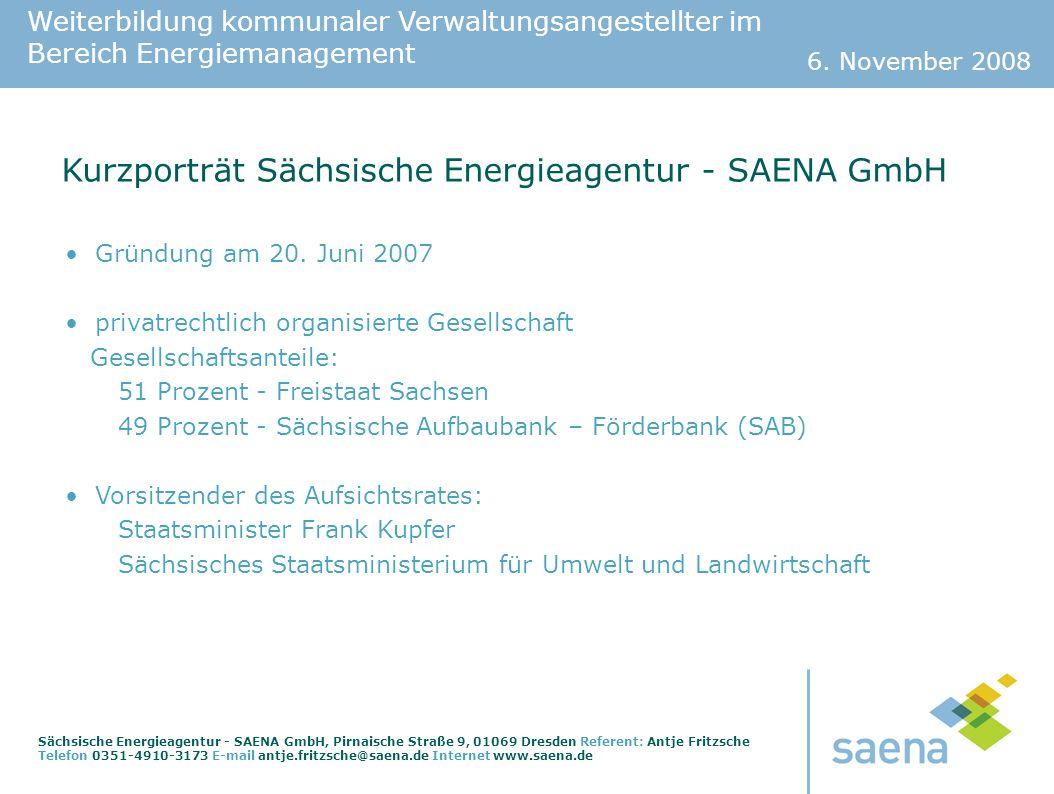 Weiterbildung kommunaler Verwaltungsangestellter im Bereich Energiemanagement 6.