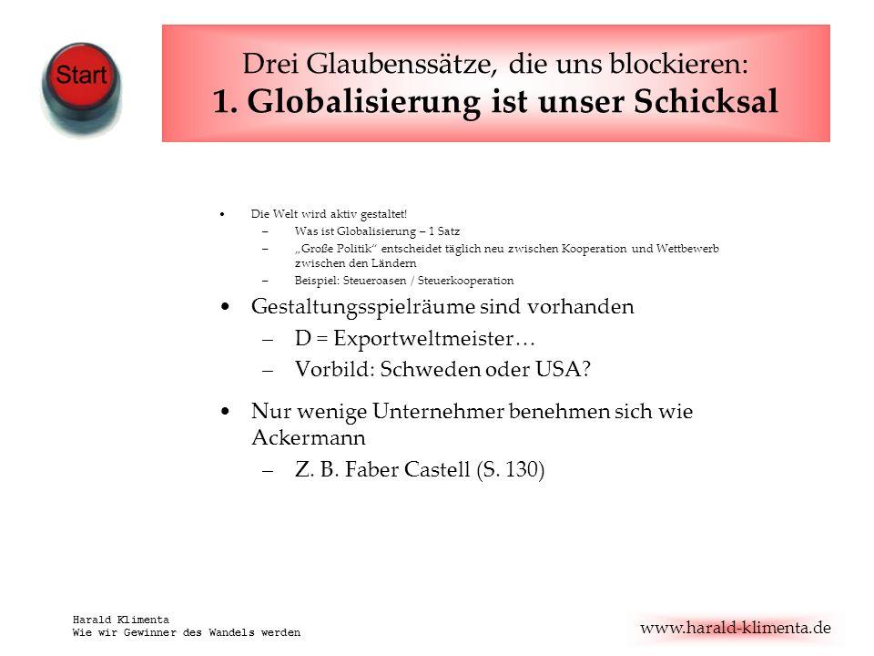 www.harald-klimenta.de Harald Klimenta Wie wir Gewinner des Wandels werden Gepa und TransFair Hungermärsche Entstanden ab 1971 aus kirchl.