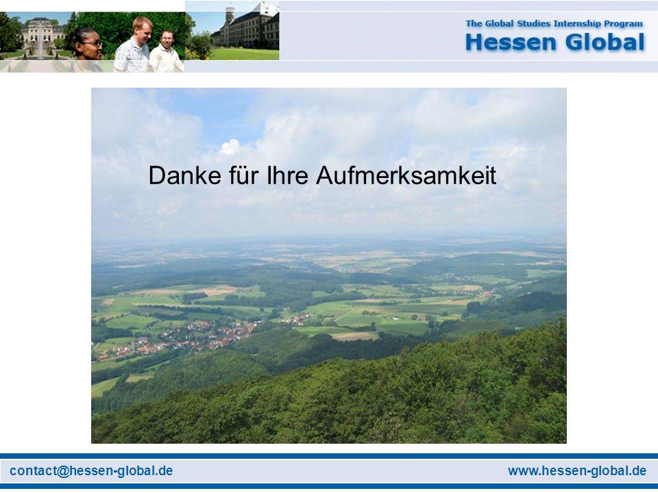 www.hessen-global.decontact@hessen-global.de Danke für Ihre Aufmerksamkeit