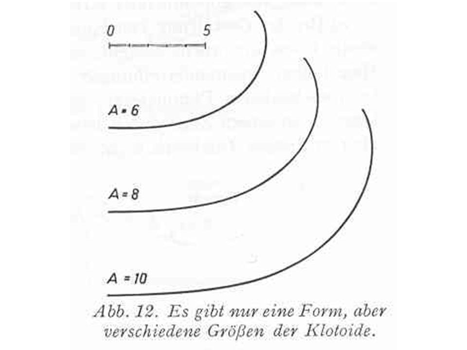 Eine (einstufige) Eilinie ist ein Linienzug in durchgehend gleichem Krümmungssinn aus zwei verschieden stark gekrümmten Kreisbögen, die durch ein passendes Klotoidenstück verbunden sind.