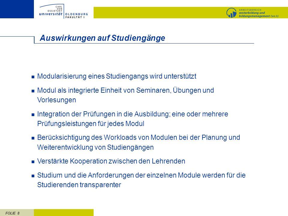 FOLIE 19 Weser-Ems/Bremen Qualifikationsverbund Nord-West IHK Ostfriesland und Papenburg Oldenburgische IHK HK Bremen Uni Bremen / ITB CvO Uni Oldenburg Arbeitnehmer- kammer Bremen