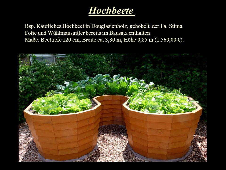 Hochbeete Bsp.Starterset für Juwel Hochbeete aus Recyclingkunststoff mit Universalbausteinen.