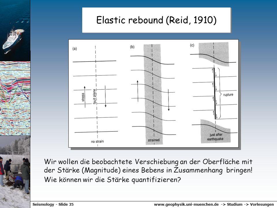 www.geophysik.uni-muenchen.de -> Studium -> VorlesungenSeismology - Slide 34 Beachballs - global
