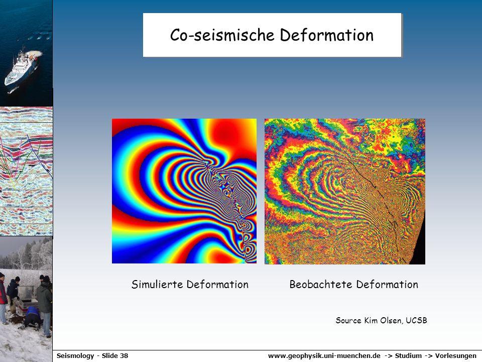 www.geophysik.uni-muenchen.de -> Studium -> VorlesungenSeismology - Slide 37 Statische Deformation - Rotation