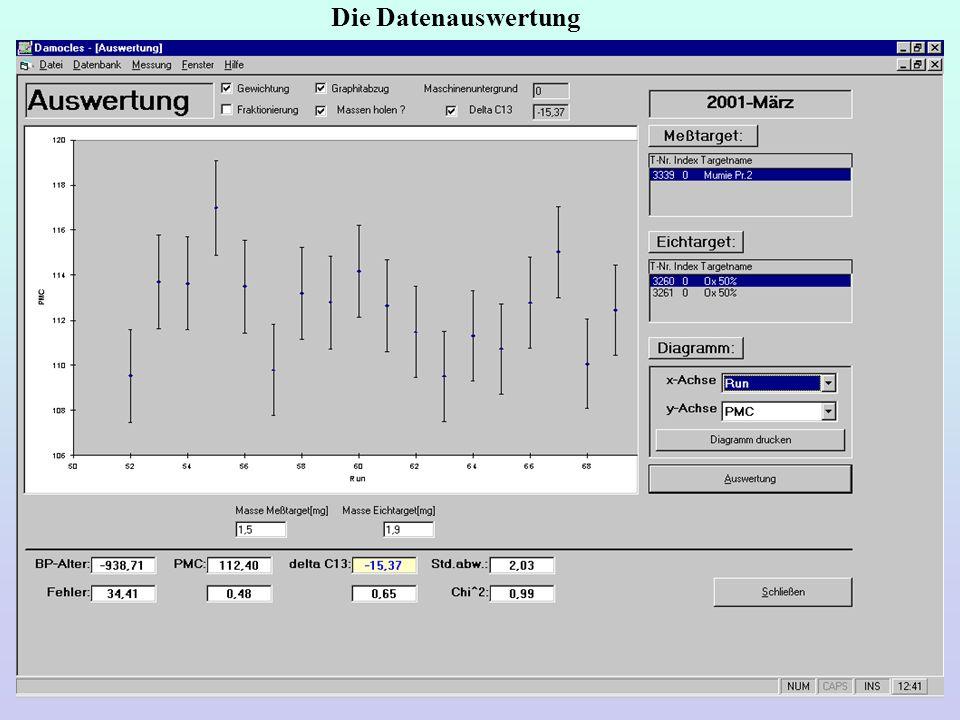 Die Datenauswertung