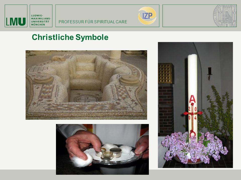 PROFESSUR FÜR SPIRITUAL CARE Christliche Symbole