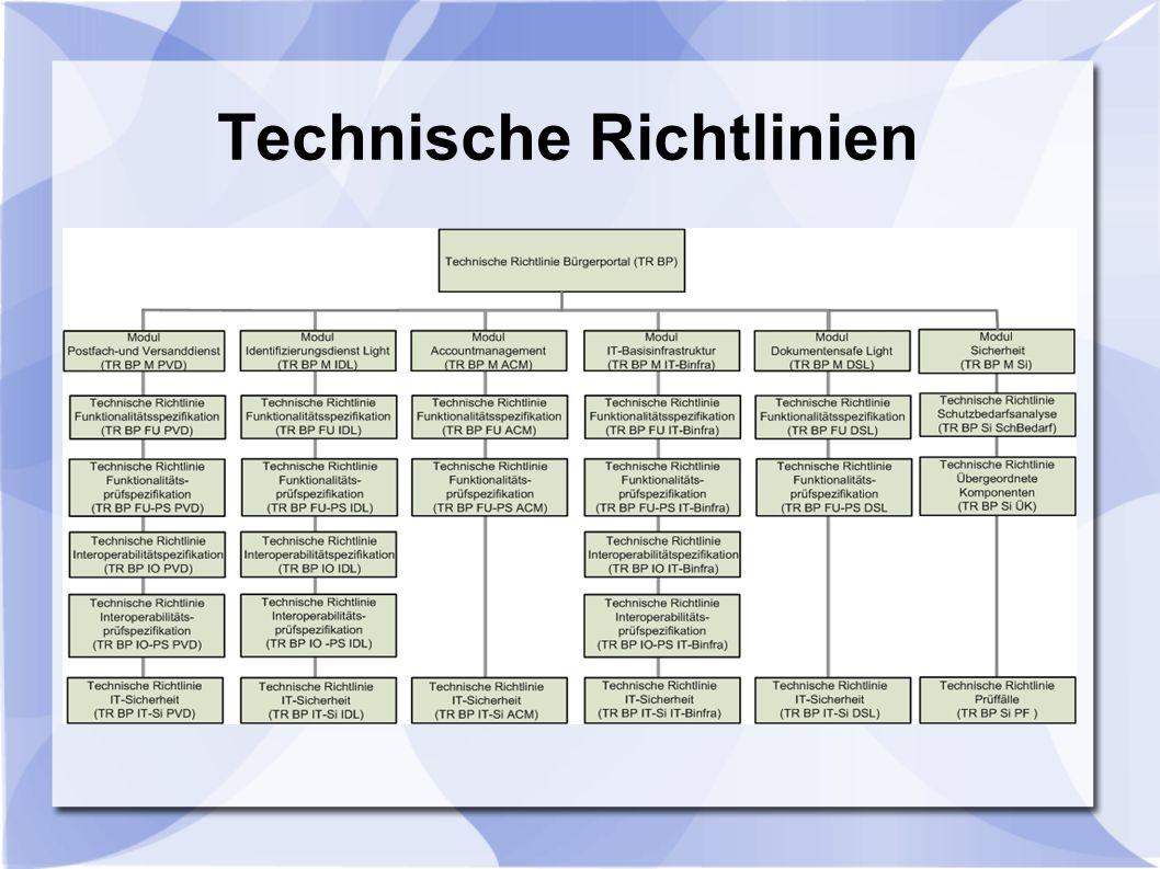 Technische Richtlinien