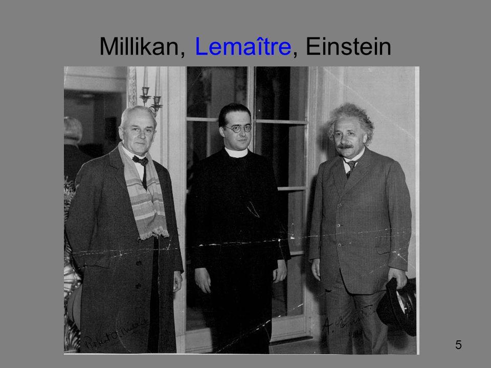 16 Das Universum ist gleich und expandiert auf allen Entfernungsskalen Für das heutige Verständnis wird die allgemeine Relativitätstheorie (ART).
