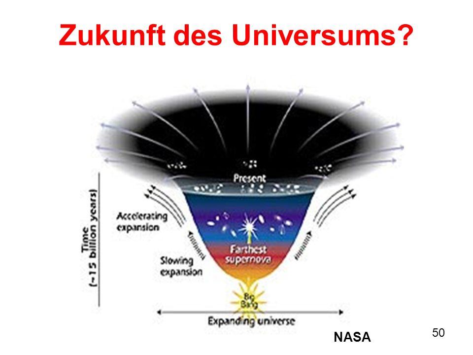 50 Zukunft des Universums? NASA