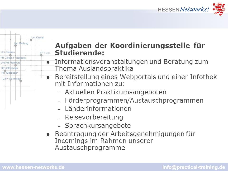 www.hessen-networks.de info@practical-training.de Hessen Networks! Infothek