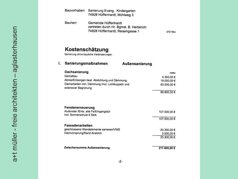 a+t müller - freie architekten – aglasterhausen Kva altbau außen