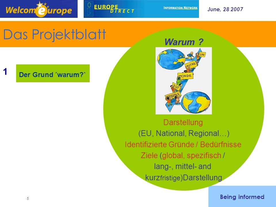June, 28 2007 26 Welcomeurope offers - Monitoring systems (Eurofunding database and customized watch - Training (around 80 sessions each year all through Europe) - Consultancy (strategy and project building) -------------------------------------------------------------------- Lorraine de Bouchony, Partner lbouchony@welcomeurope.com Tel 33 1 42 54 60 64