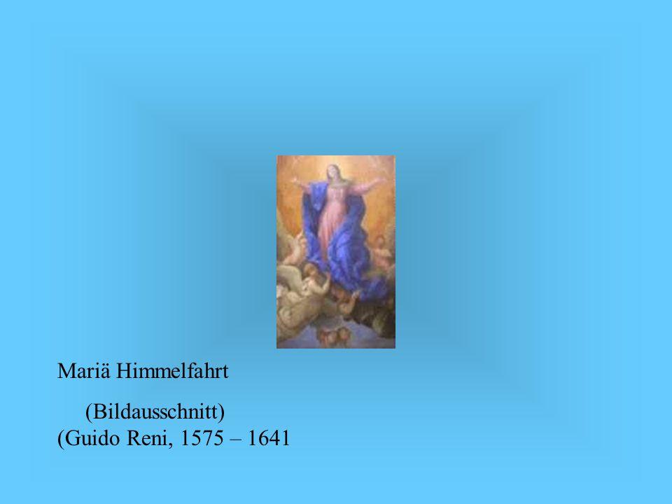 Mariä Himmelfahrt (Bildausschnitt) (Guido Reni, 1575 – 1641