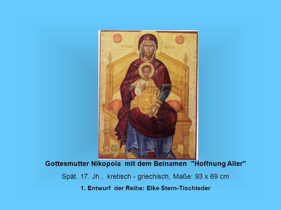 Gottesmutter Nikopoia mit dem Beinamen