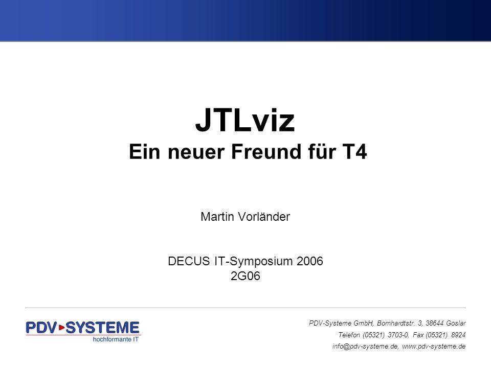 PDV-Systeme GmbH, Bornhardtstr. 3, 38644 Goslar Telefon (05321) 3703-0, Fax (05321) 8924 info@pdv-systeme.de, www.pdv-systeme.de JTLviz Ein neuer Freu