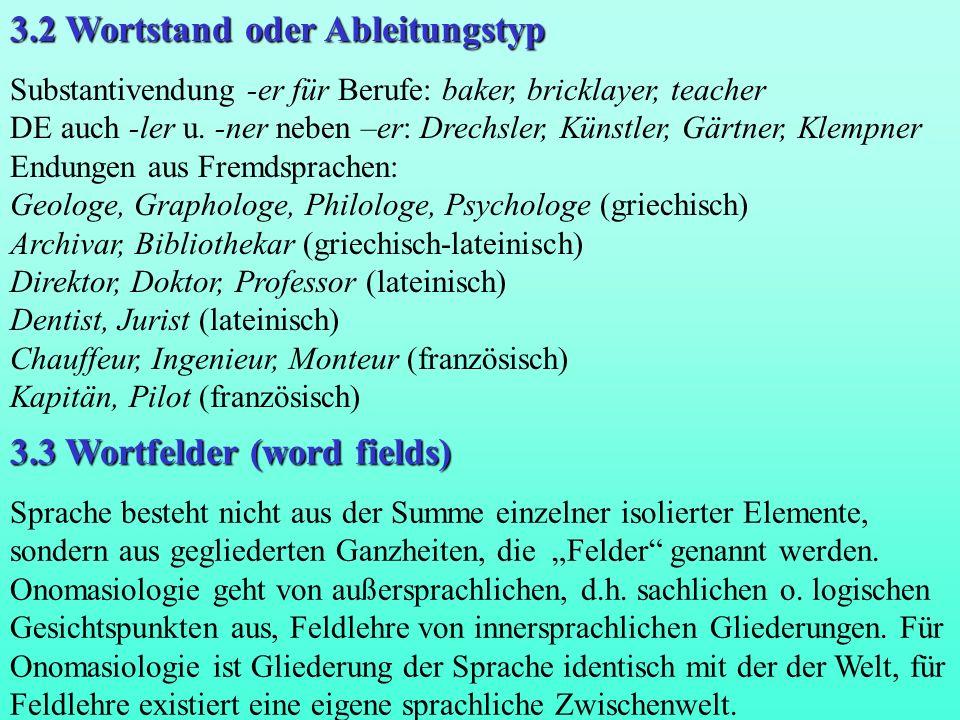 Jost Trier.Der deutsche Wortschatz im Sinnbezirk des Verstandes.