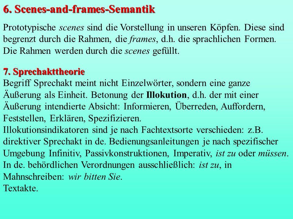 Wortschatzstudien 1.Denotation diachronisch (z.B.
