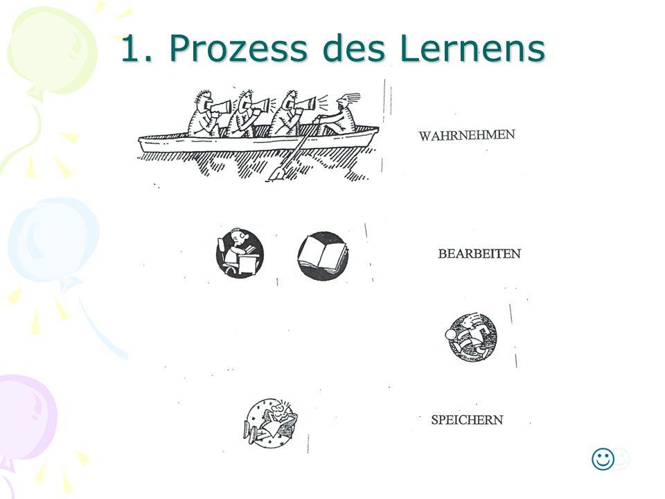 1. Prozess des Lernens