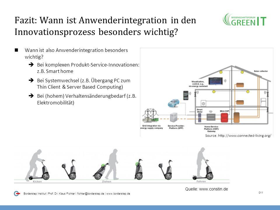 010 Borderstep Institut | Prof. Dr. Klaus Fichter | fichter@borderstep.de | www.borderstep.de Empirische Erkenntnisse über den Erfolg von Nachhaltigke