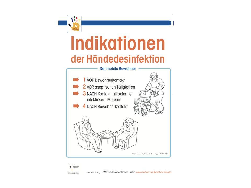 www.aktion-sauberehaende.de | ASH 2011 - 2013 Alten- und Pflegeheime Zu Folie: Warum soll ich auf eine gute Händehygiene achten.
