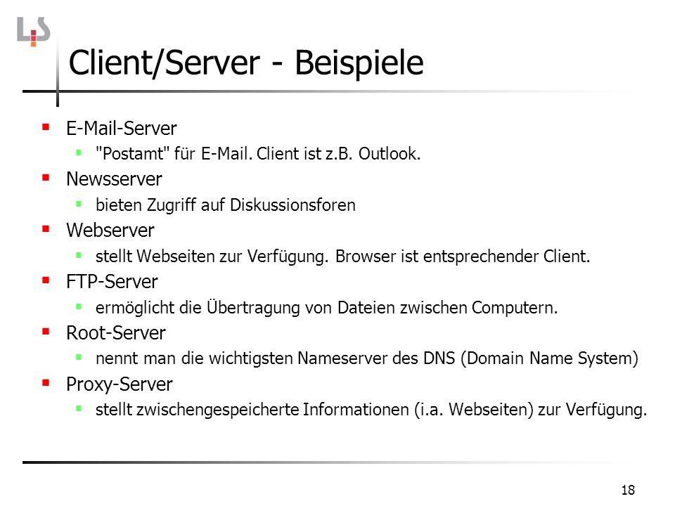 18 E-Mail-Server
