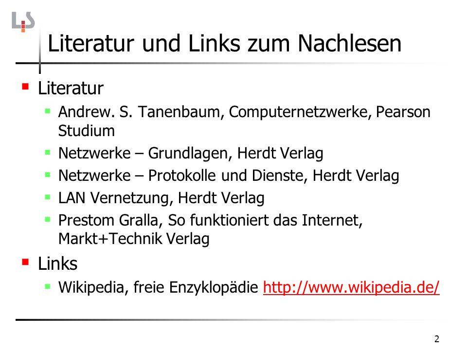 43 IP-Adressvergabe Die Organisation IANA (Internet Assigned Numbers Authority) regelt die Vergabe von IP-Adressen und TLDs (top level domains).