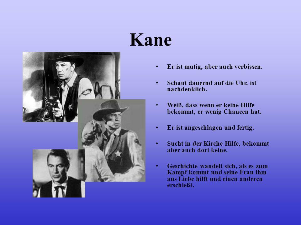 Kane Bei seiner Hochzeit mit Amy erfährt er eine schreckliche Nachricht und verlässt vorzeitig die Stadt. Er verspricht Amy das Beste aus ihrer Ehe zu