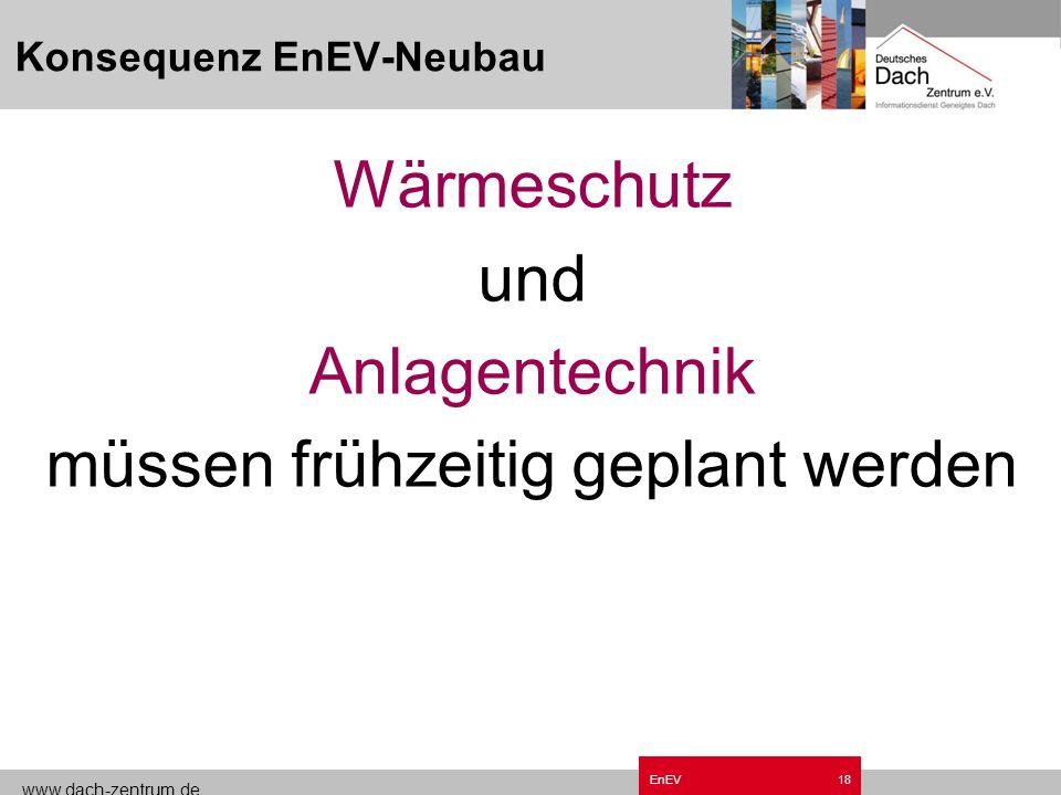 www.dach-zentrum.de EnEV17 Kompensationsmöglichkeiten