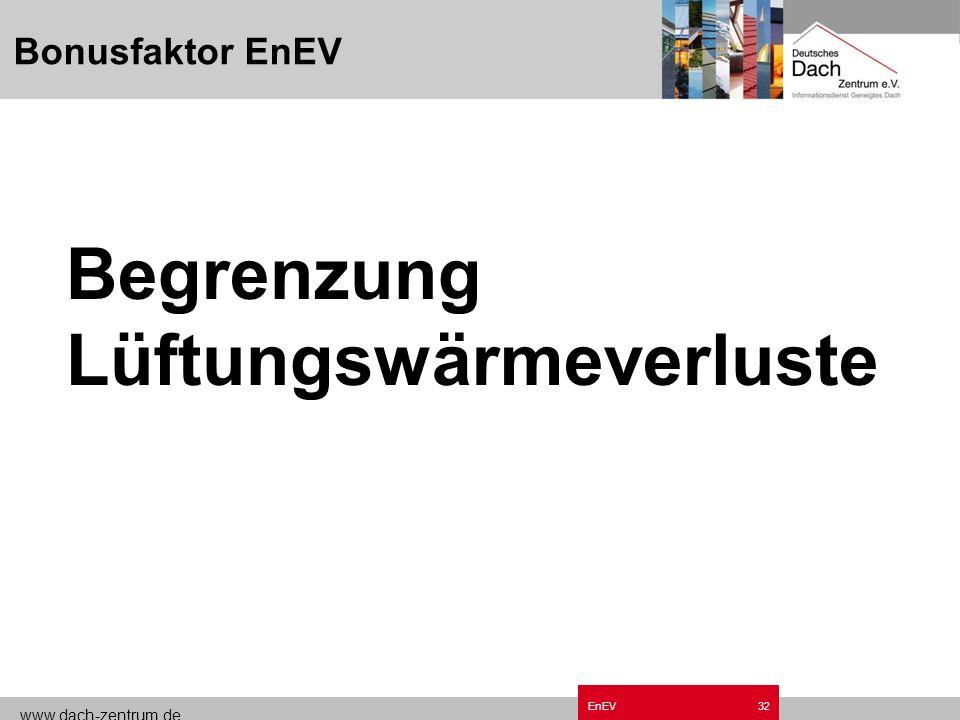 www.dach-zentrum.de EnEV31 Vermeidung Wärmebrücken Beispiel Kamin