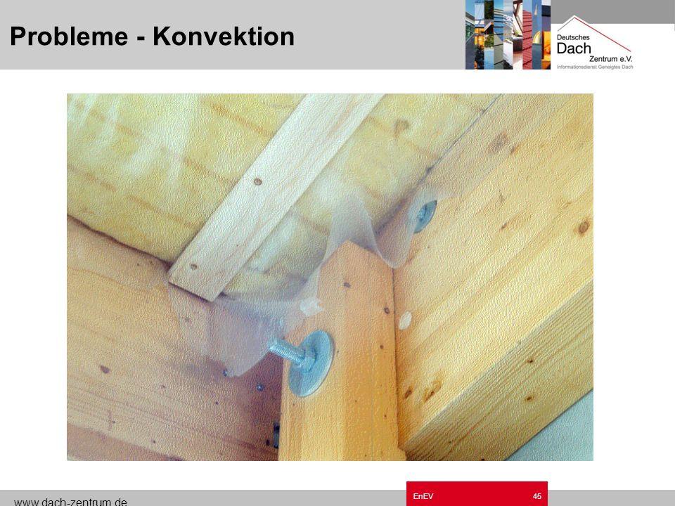 www.dach-zentrum.de EnEV44 Probleme - Konvektion