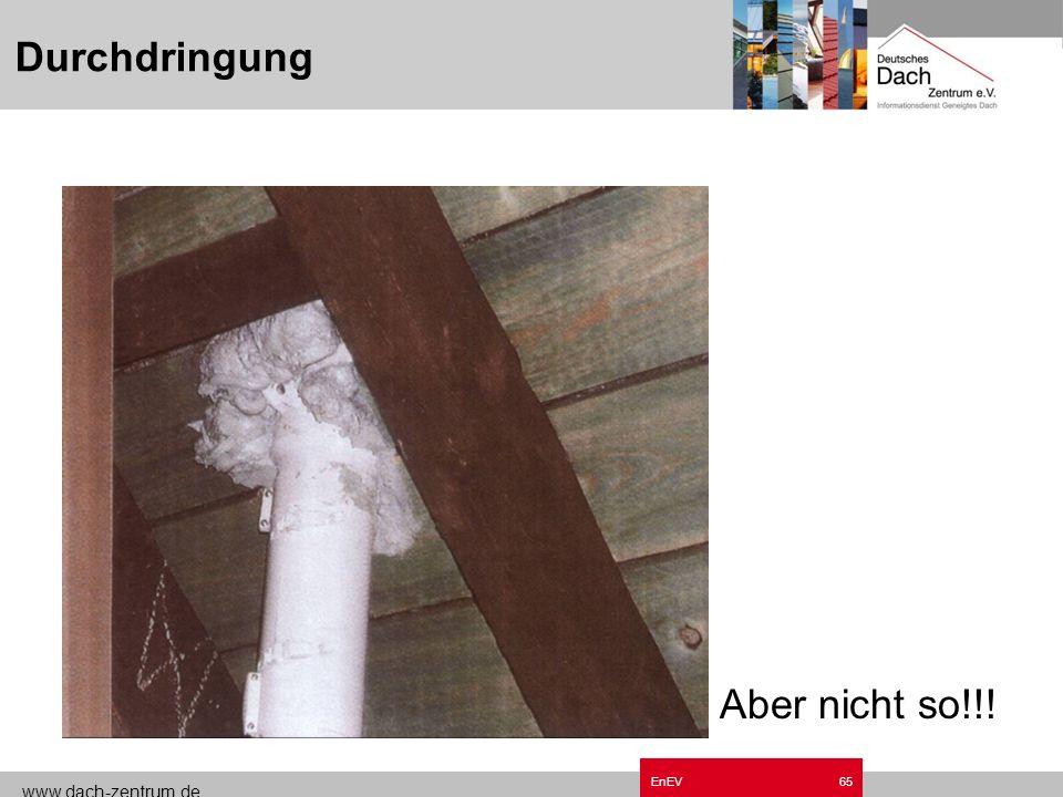 www.dach-zentrum.de EnEV64 Durchdringung