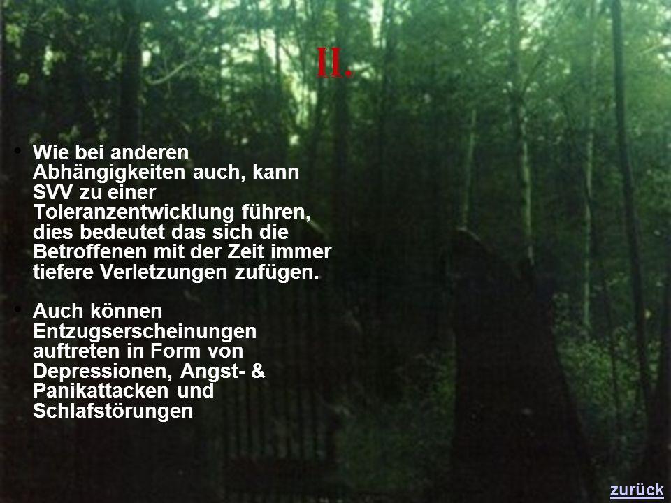 Informationsquellen nakos.de rotelinien.de rotetraenen.de linkliste-sozialarbeit.de kkh-wilhelmstift.de forum-hilfe.de hilferuf.de Google (Bilder) Youtube (Infovideos) zurück