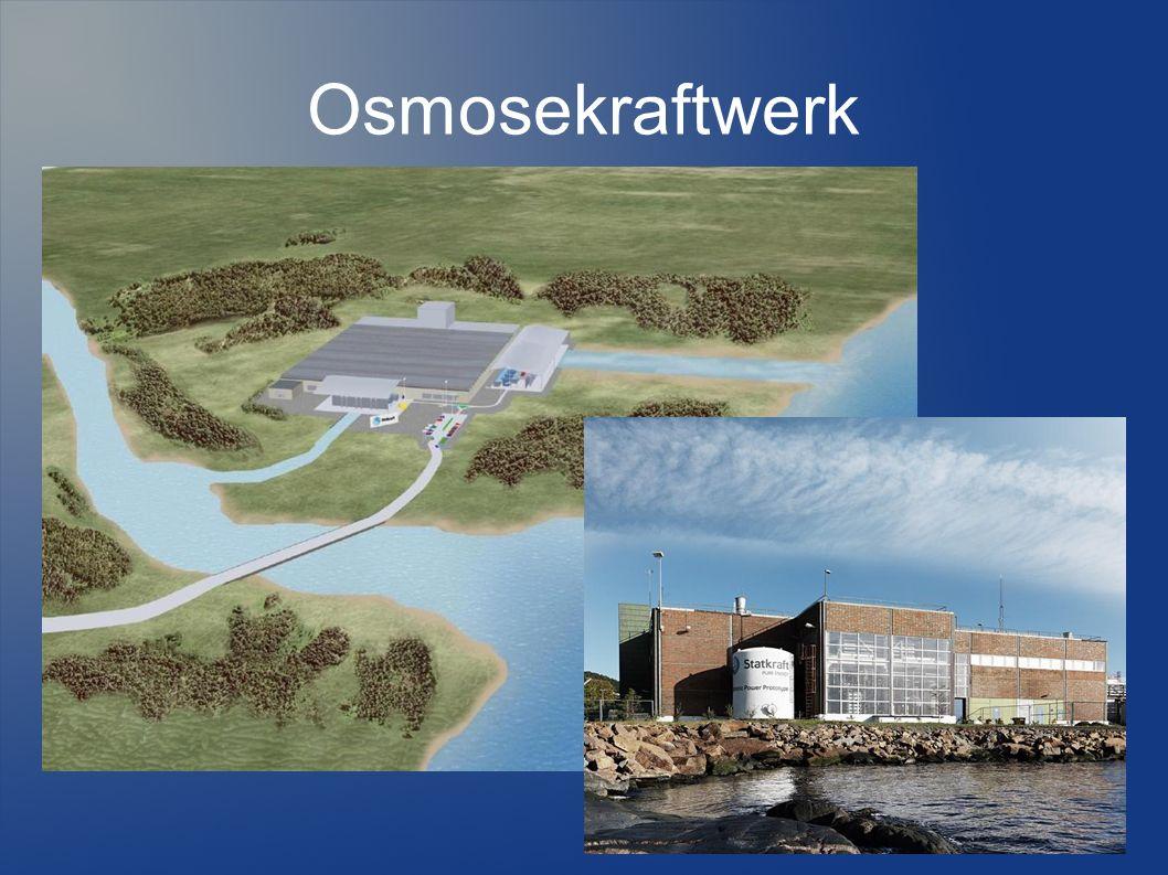 Inhaltsverzeichnis I.ARD Beitrag zum Osmosekraftwerk II.