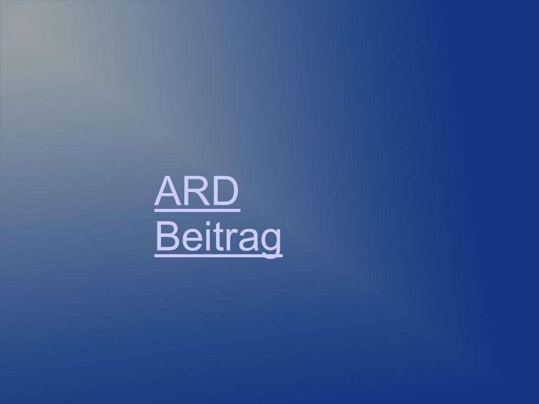 ARD Beitrag