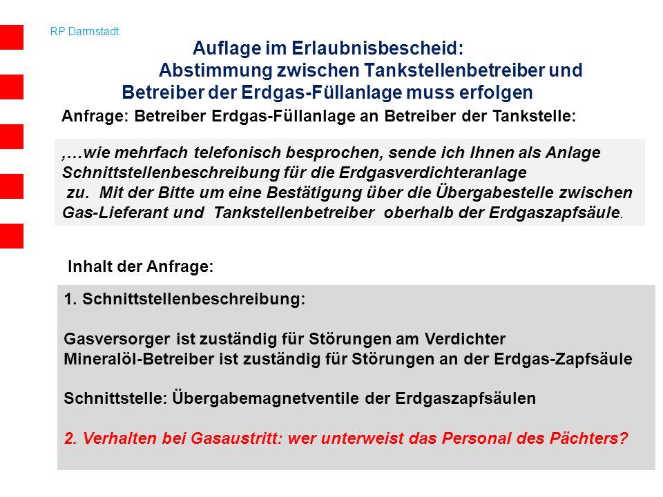 RP Darmstadt 11,…wie mehrfach telefonisch besprochen, sende ich Ihnen als Anlage Schnittstellenbeschreibung für die Erdgasverdichteranlage zu. Mit der