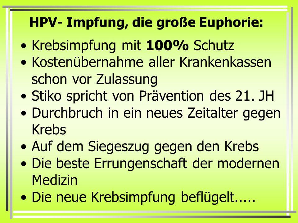 Das Zervix-Karzinom Die 1995 in Deutschland registrierten rund 2.200 Sterbefälle an einem Zervixkarzinom machen 2% aller Krebssterbefälle bei Frauen aus.